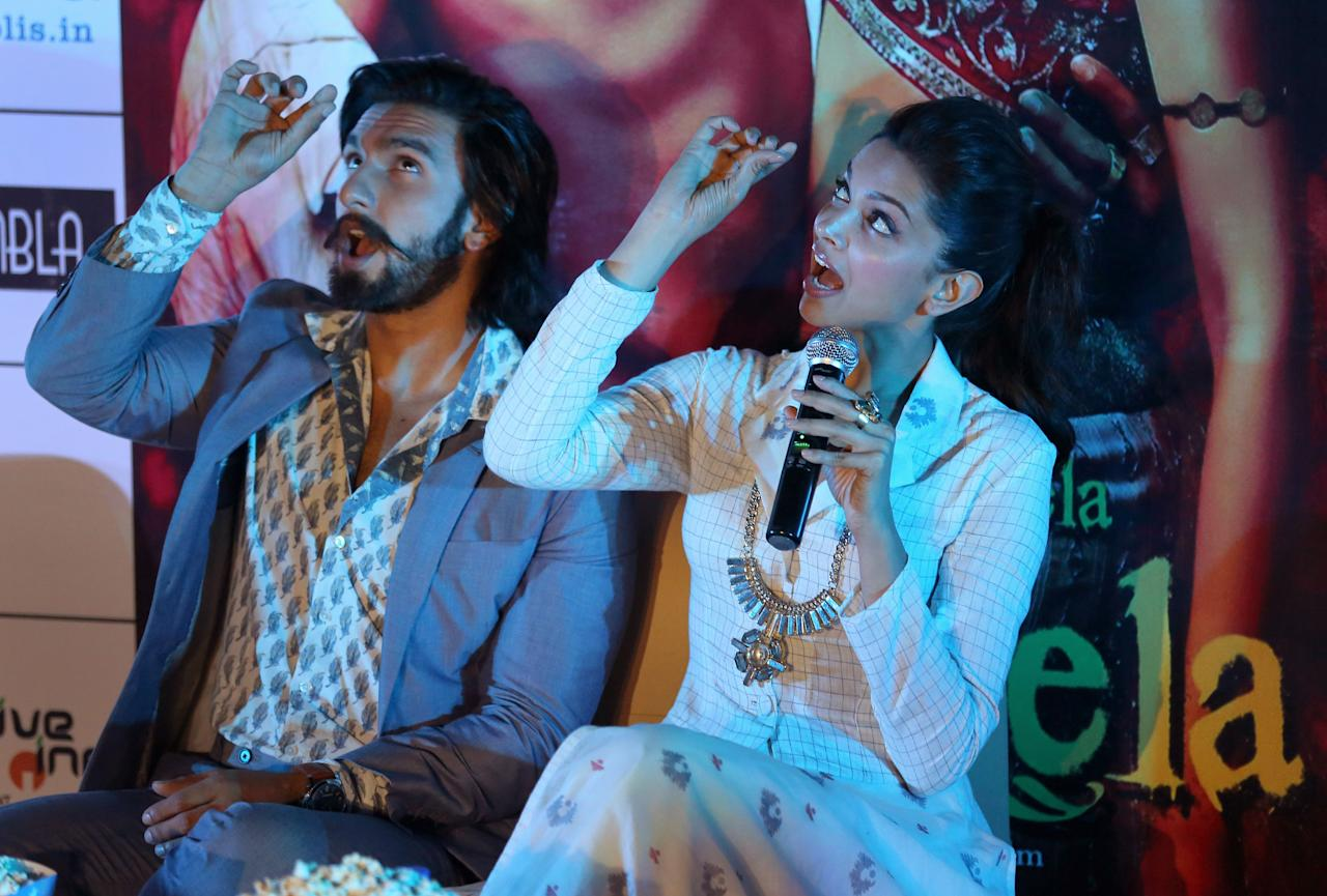 <p>Ranveer Singh and Deepika Padukone are currently collectively endorsing around 40 brands. </p>