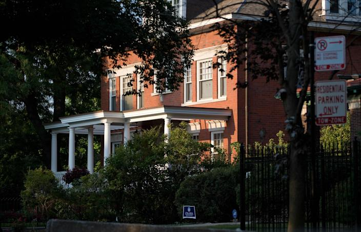 The Chicago home of Barack Obama. (Photo: Saul Loeb/AFP/Getty Images)