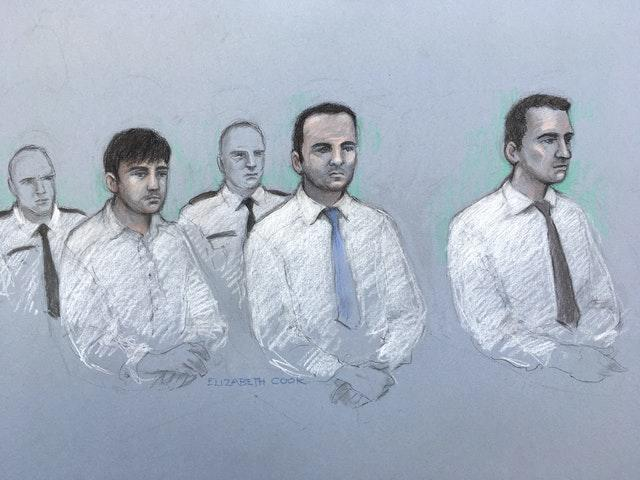 Three teenagers on trial over Pc's death