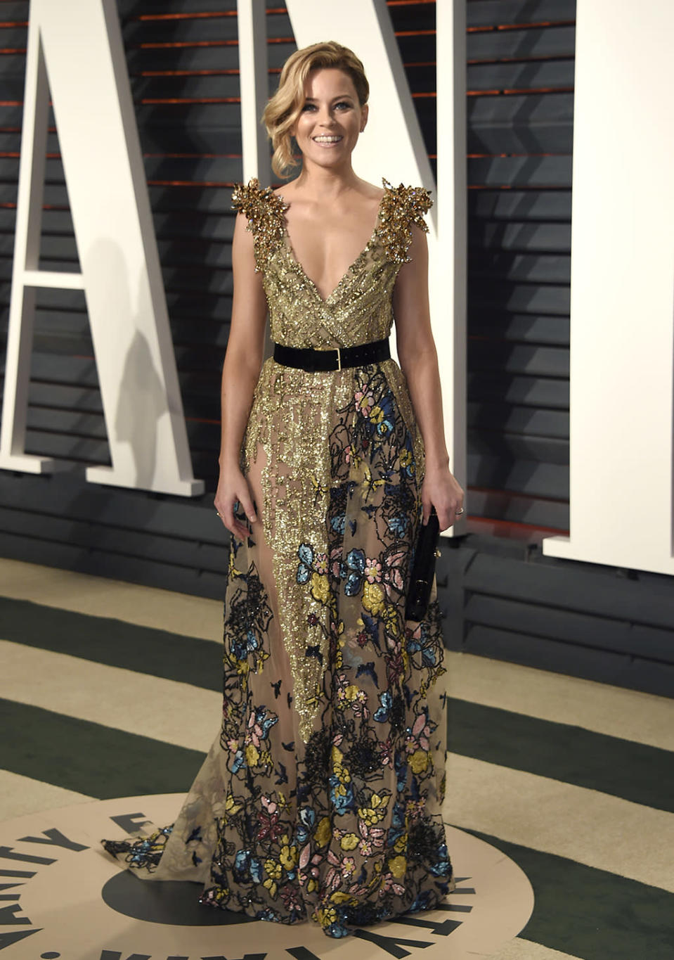 <p>Elizabeth Banks arrives at the Vanity Fair Oscar Party on Sunday, Feb. 26, 2017, in Beverly Hills, Calif. (Photo by Evan Agostini/Invision/AP) </p>