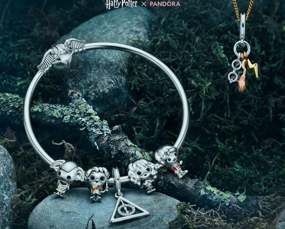 Harry Potter X Pandora collection. Image via Pandora