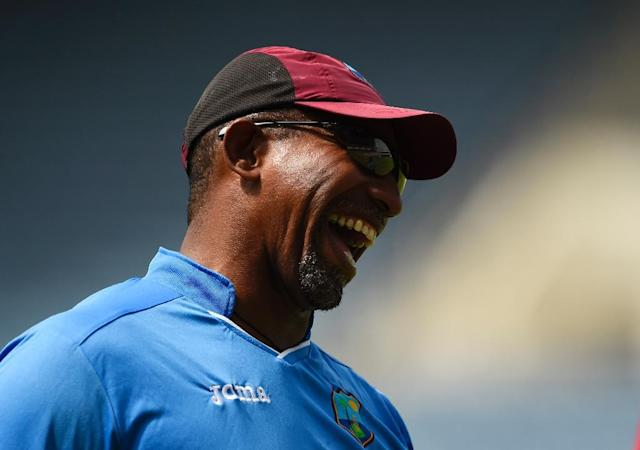 Now or never: Afghanistan coach Phil Simmons plots the downfall of his former side West Indies in World Cup qualifying (AFP Photo/ROBYN BECK)