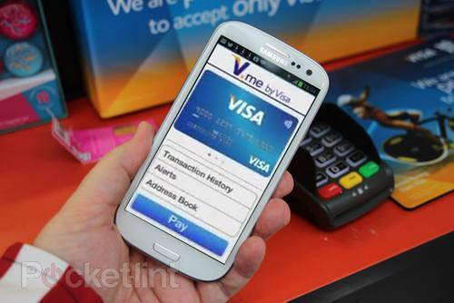 80 per cent of Brits will have access to V.me digital wallet in 2013, says Visa. Visa, V-me, NFC, PayPal, 0