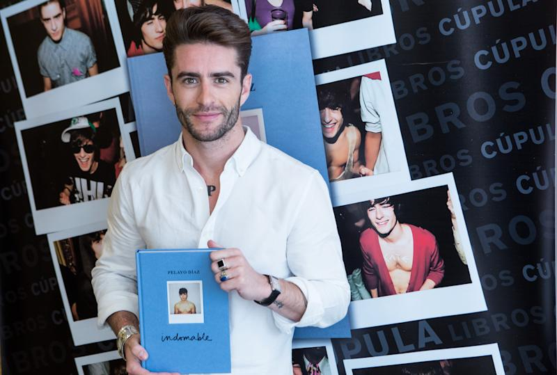 MADRID, SPAIN - MAY 31: Pelayo Diaz presents his book 'Indomable' at the Intercontinental Hotel on May 31, 2016 in Madrid, Spain. (Photo by Pablo Cuadra/Getty Images)
