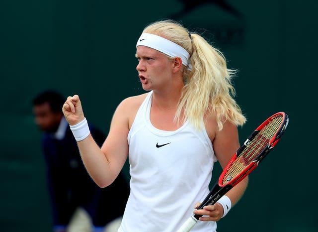 Jones had only won her first slam qualifying match on Monday