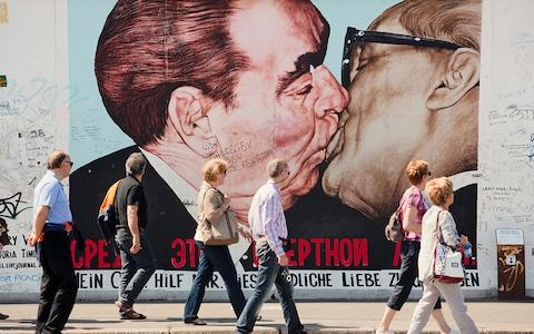East Side Gallery, Berlin - Credit: Marcus Lindstrom/LordRunar