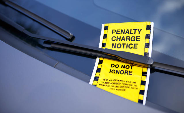 Parking wardens in Kent have been issuing fines as normal during the coronavirus crisis. (Getty/stock photo)
