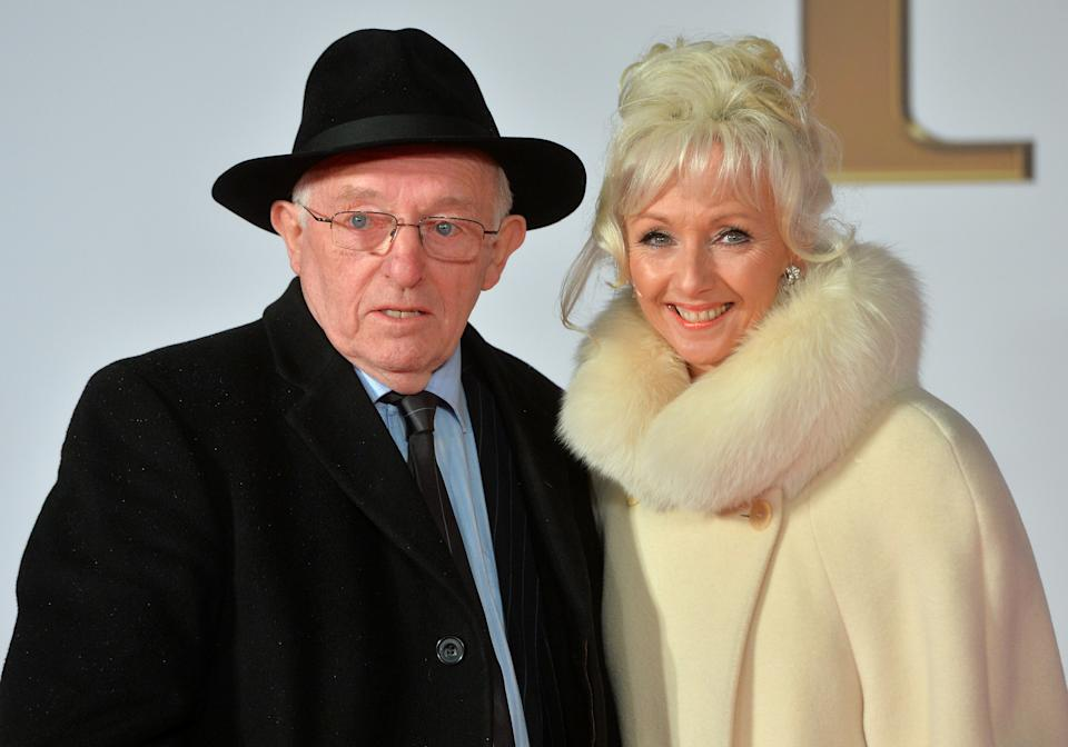 Paul Daniels and Debbie McGee attend the world Premiere of