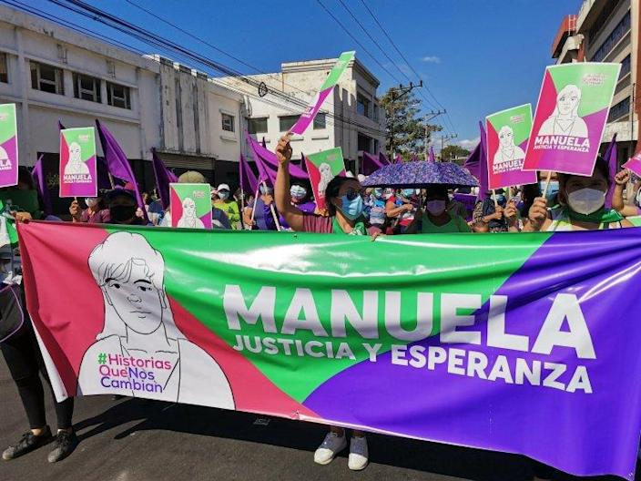 In El Salvador, Manuela has become a rallying symbol for proponents of women's reproductive rights.