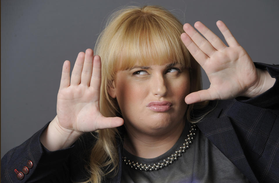 Actress, writer and comedienne Rebel Wilson, a cast member in the film Bachelorette