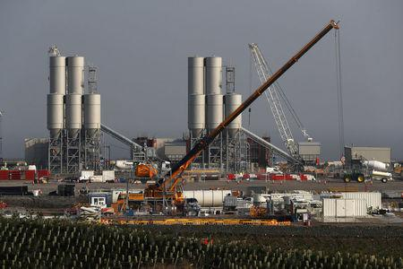 FILE PHOTO: Hinkley Point C nuclear power station site near Bridgwater in Britain, September 14, 2016. REUTERS/Stefan Wermuth/File Photo