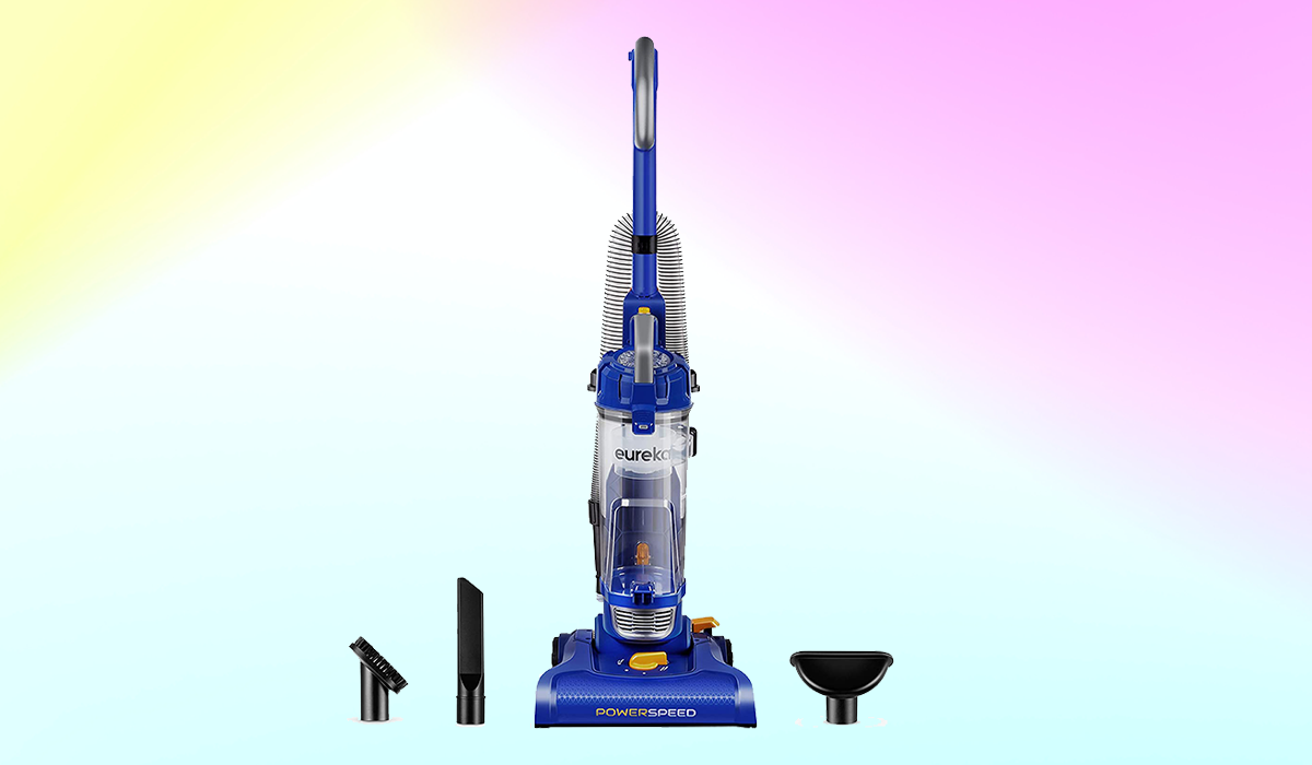 Eureka! This lightweight beauty has it all — strong suction and tools galore. (Photo: Amazon)