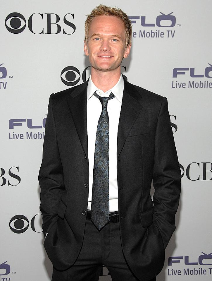 """How I Met Your Mother"" star Neil Patrick Harris donned a dapper black suit and a smile for the CBS Comedies' Season Premiere Party held at Area in West Hollywood, CA. Jean-Paul Aussenard/<a href=""http://www.wireimage.com"" target=""new"">WireImage.com</a> - September 17, 2008"
