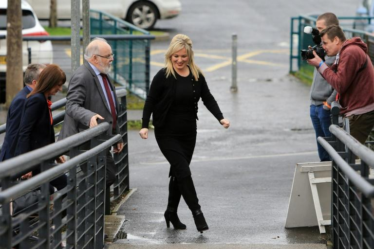 Sinn Fein's Michelle O'Neill is in line to become Northern Ireland's deputy prime minister