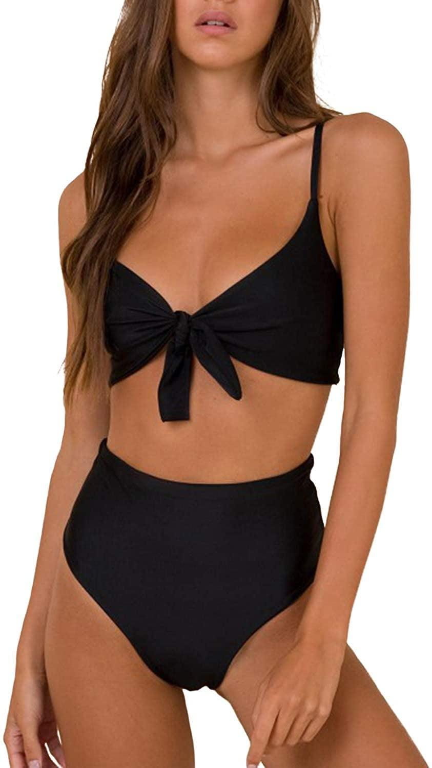 <p>This <span>Blooming Jelly High Waisted Bikini Set</span> ($14 - 30) is playful and fun.</p>