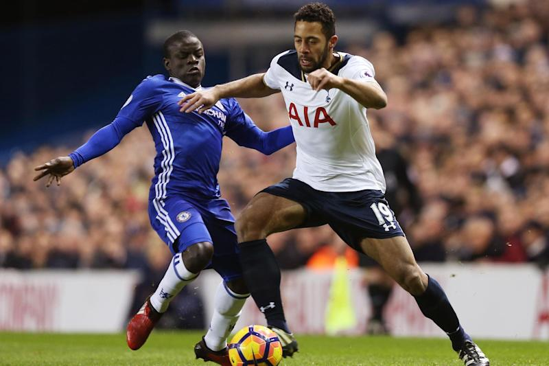 Making his mark: Mousa Dembele: Tottenham Hotspur FC via Getty Images