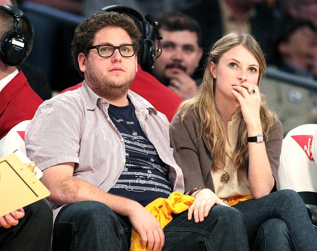 "Is ""Superbad's"" Jonah Hill on a date? Noel Vasquez/<a href=""http://www.gettyimages.com/"" target=""new"">GettyImages.com</a> - November 5, 2008"