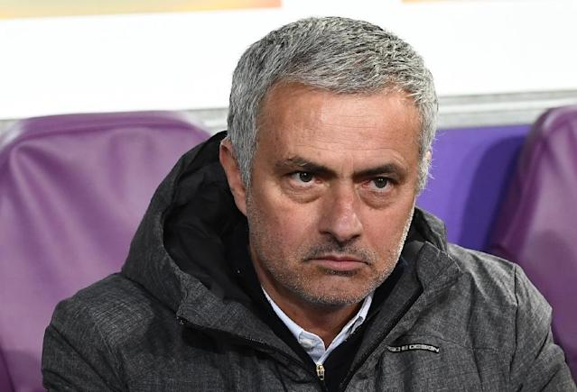 Sacked by Chelsea midway through last season's car-crash title defence, Mourinho has had two deeply unpleasant experiences on his two trips to Stamford Bridge this season (AFP Photo/Emmanuel DUNAND)