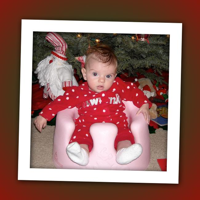 This baby still hasn't celebrated her third Christmas yet, but she's already become a Disney Channel star. Can you guess who that is under the tree?
