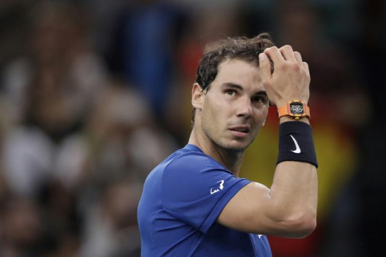 Rafael Nadal was forced to pull out of the Paris Masters last week with a knee injury but hopes to be fit enough to play at the 2017 season-ending ATP World Tour Finals in London