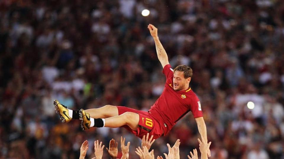 Francesco Totti | Paolo Bruno/Getty Images
