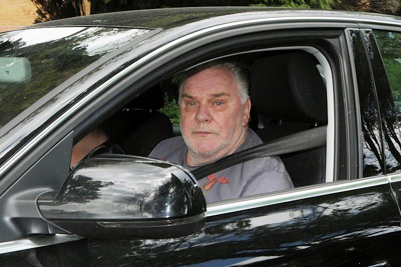 Freddie Starr outside his home in Warwickshire (Photo by PA Images via Getty Images)