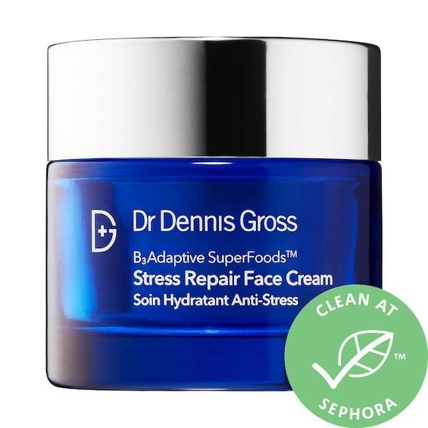 <p><span>Dr. Dennis Gross Skincare Stress Repair Face Cream with Niacinamide</span> ($72) packs superfoods and adaptogens to help skin stay safe in the face of free radicals and stress. In this case, its niacinamide reduces redness and helps your complexion stay hydrated and plump as the moisturizer supports skin's natural barrier function, too.</p>