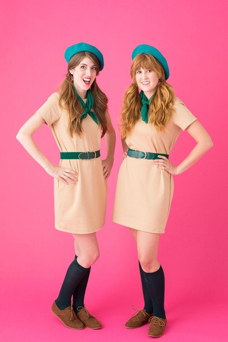 """<p>Beverly Hills will <em>always </em>be a thrill, so gather up the troops for this clever DIY Halloween costume. Whether you're obsessed with the movie or just need an easy last-minute costume, this girl scout-inspired idea is easily thrown together without needing a trip to the mall. Gasp!</p><p><a href=""""https://studiodiy.com/diy-troop-beverly-hills-costume/"""" rel=""""nofollow noopener"""" target=""""_blank"""" data-ylk=""""slk:Get the tutorial at Studio DIY »"""" class=""""link rapid-noclick-resp""""><em>Get the tutorial at Studio DIY »</em></a></p>"""