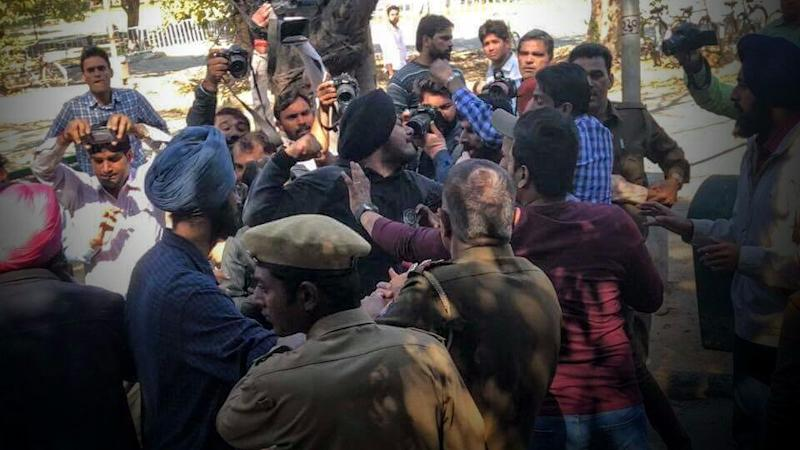 Panjab Uni Campus Tense After Left-Leaning Event's Approval Denied