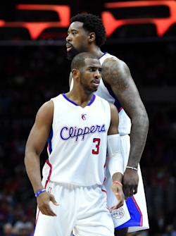 Communication between Chris Paul and Jordan was lacking at times last season. (Getty Images)