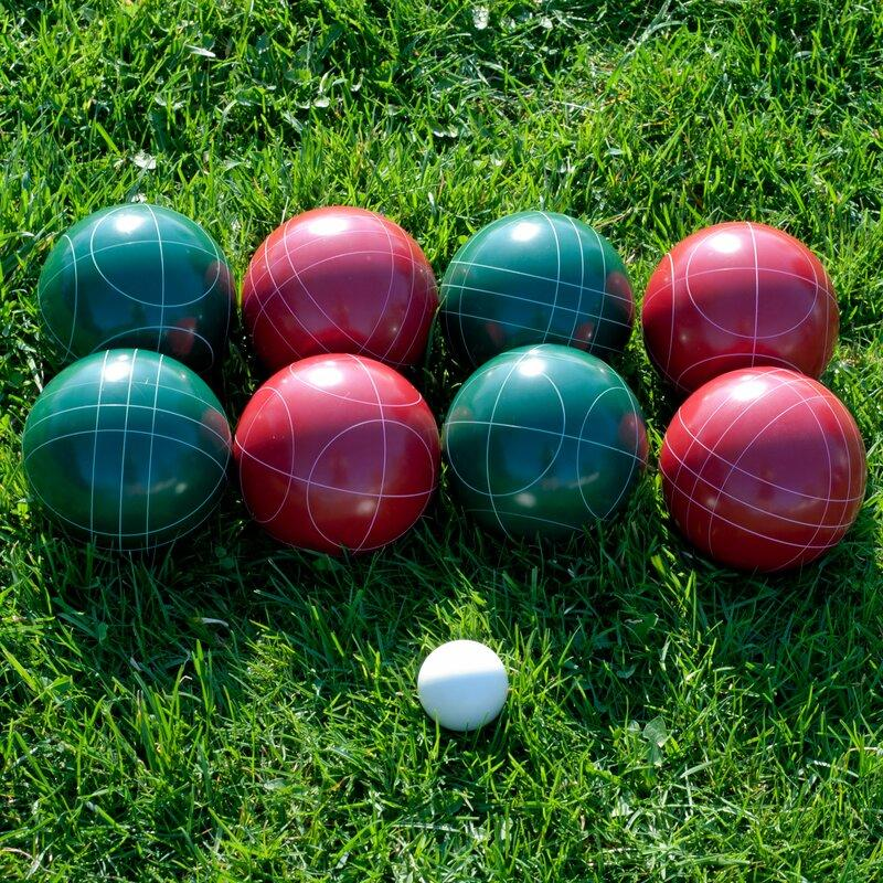 89mm Bocce with Carrying Case. Image via Wayfair.