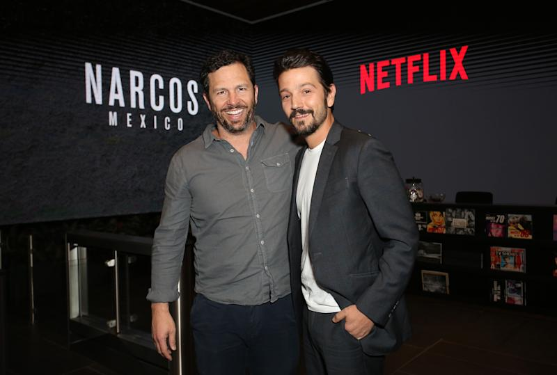 Diego Luna es uno de los referentes del cine Mexicano. (Rachel Murray/Getty Images for Netflix)