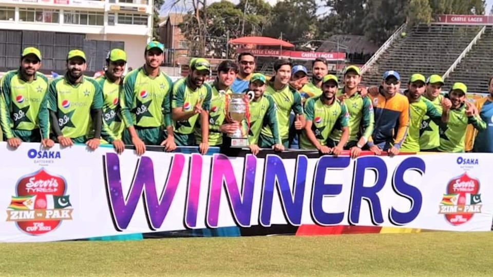 Pakistan beat Zimbabwe, win three-match T20I series: Records broken