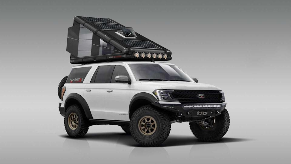 Redtail Overland Rooftop Camper RT110