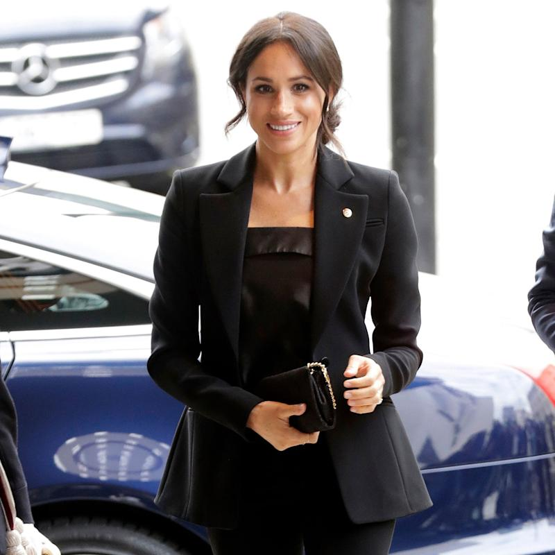 Meghan Markle Suits Up—Again—Like Only a Royal Could