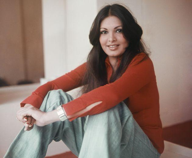 A 1978 photo of Parveen Babi.Babi, who died in 2005, appeared in some of the most iconic movies of her time including Yash Chopra's 'Deewaar'andManmohan Desai's Amar Akbar Anthony