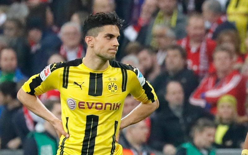 Bartra was injured by the explosion - EPA