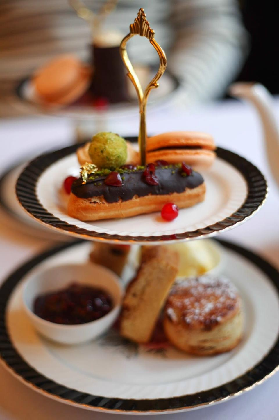 """<p>This is a refined take on tea, with delicate pastries and handmade morsels served on bone china, in a grand Victorian dining room. </p><p><b><a rel=""""nofollow noopener"""" href=""""http://parkhouserestaurant.co.uk/"""" target=""""_blank"""" data-ylk=""""slk:Parkhouserestaurant.co.uk"""" class=""""link rapid-noclick-resp"""">Parkhouserestaurant.co.uk</a></b></p>"""