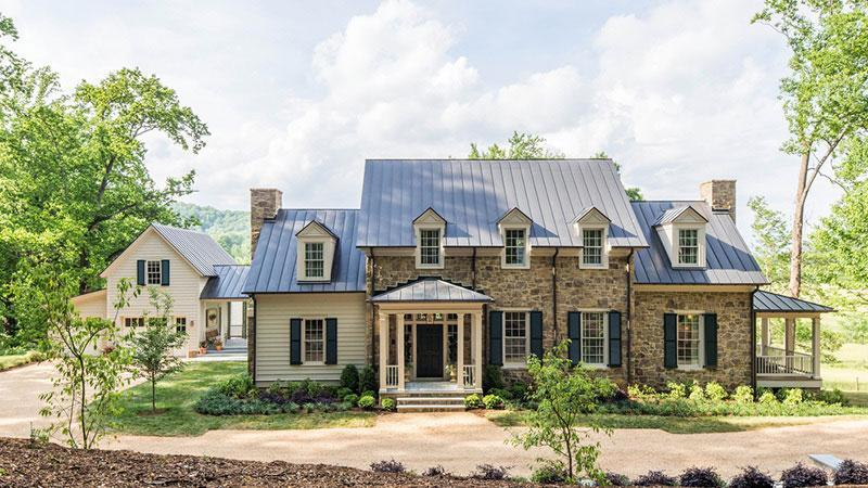 """<p><a href=""""https://houseplans.southernliving.com/plans/SL1871"""" rel=""""nofollow noopener"""" target=""""_blank"""" data-ylk=""""slk:Plan SL-1871"""" class=""""link rapid-noclick-resp"""">Plan SL-1871</a></p> <p>You'll never get over the multiple outdoor rooms and stunning built-ins (including bunks, bookshelves, and pantry).</p>"""