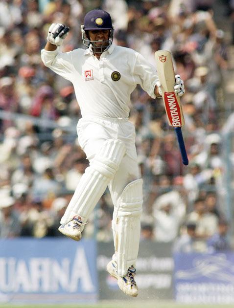 In the 18 months ending mid-1998, Dravid played in an away series against the West Indies, home and away series against Sri Lanka and a home series against Australia, and scored consistently, with 964 runs, including 11 half-centuries,   at an average of 56.7.