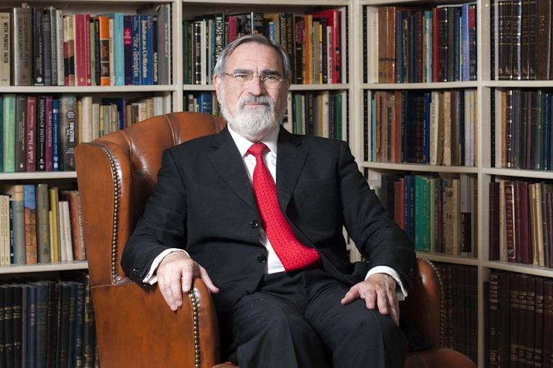 Chief Rabbi Lord Jonathan Sacks: Rex Features