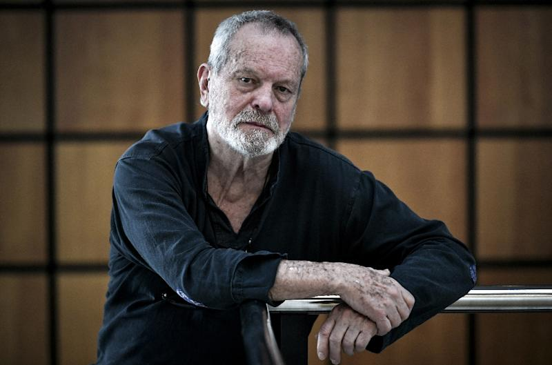 "Film director Terry Gilliam spent nearly 20 years battling to adapt Cervantes's ""unfilmable"" novel Don Quixote (AFP Photo/STEPHANE DE SAKUTIN)"