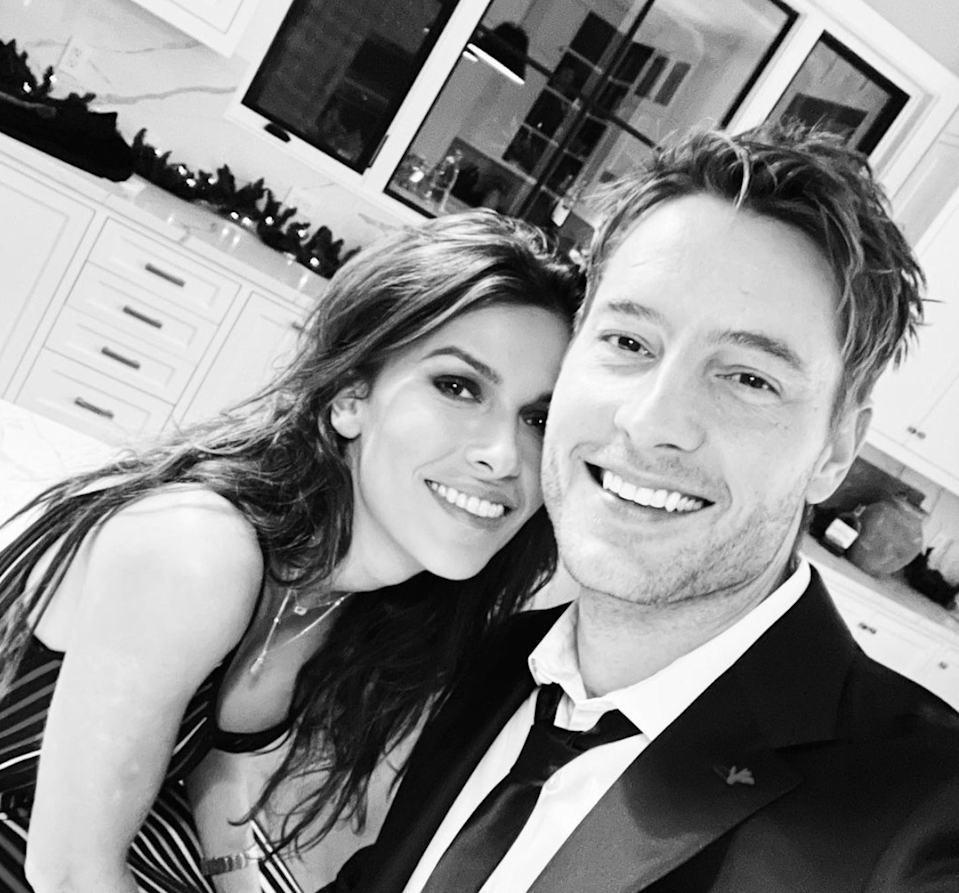 "<p>In the wee hours of January 1, 2021, or the last few moments of 2020 (depending on which coast you live on), <em>This Is Us</em> star Justin Hartley went Instagram official with <em>Blood & Treasure</em> actor Sofia Pernas. ""Last minutes of 2020 here in LA,"" Hartley captioned the above photo. ""Bring on 2021! Happy New Year!""</p> <p>Meanwhile, Pernas posted a <a href=""https://www.instagram.com/p/CJfgKmzn042/"" rel=""nofollow noopener"" target=""_blank"" data-ylk=""slk:different selfie"" class=""link rapid-noclick-resp"">different selfie</a> of the pair on her own grid. ""Sayonara 2020, it's been real,"" she wrote. ""Happy New Year from our quarantine den to yours ❤️""</p> <p>In 2019, Hartley got <a href=""https://www.glamour.com/story/justin-hartley-and-chrishell-stause-a-complete-relationship-timeline?mbid=synd_yahoo_rss"" rel=""nofollow noopener"" target=""_blank"" data-ylk=""slk:divorced"" class=""link rapid-noclick-resp"">divorced</a> from reality star Chrishell Stause, who is now in a <a href=""https://www.glamour.com/gallery/the-biggest-new-celebrity-couples-of-2020?mbid=synd_yahoo_rss"" rel=""nofollow noopener"" target=""_blank"" data-ylk=""slk:new relationship"" class=""link rapid-noclick-resp"">new relationship</a> with <em>Dancing With the Stars</em> pro Keo Motsepe.</p>"