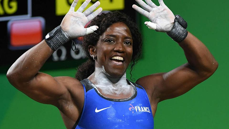 Gaelle Verlaine Nayo Ketchanke at the Rio 2016 Olympics. (Image: GOH CHAI HIN/AFP/Getty Images)