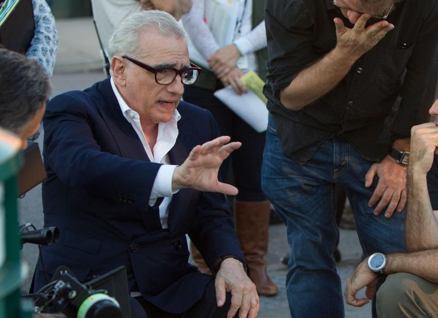Martin Scorcese directing 2013's 'The Wolf of Wall Street' (credit: Universal)