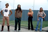 "<p>Though <em>Dazed and Confused</em> is one of the best '90s movies of all time, this story about Texas teens on the last day of school is actually a throwback to the 1970s. Feel nostalgic for lazy, pre-internet summer days, covet the high-waist vintage denim, and get amusement out of spotting the cast of before-they-were-famous stars, including Ben Affleck, Matthew McConaughey, Renée Zellweger, and others. </p> <p><em>Available to stream on</em> <a href=""https://www.amazon.com/Dazed-Confused-Jason-London/dp/B003WLQGC0"" rel=""nofollow noopener"" target=""_blank"" data-ylk=""slk:Starz"" class=""link rapid-noclick-resp""><em>Starz</em></a><em>.</em></p>"