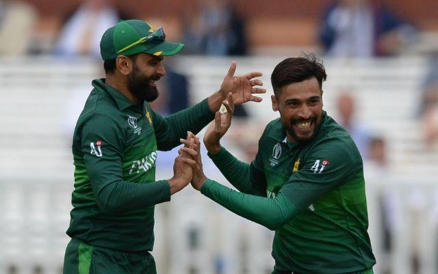 Mohammad Hafeez and Mohammad Amir (Photo-Getty)