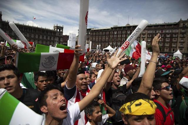 World Cup 2018: Mexico fans cause earthquake tremor by jumping for joy after win over Germany