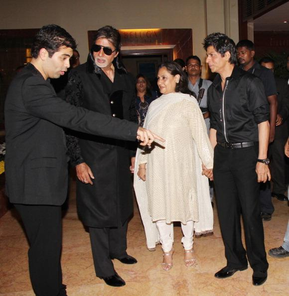 Jaya Bachchan and Shah Rukh Khan