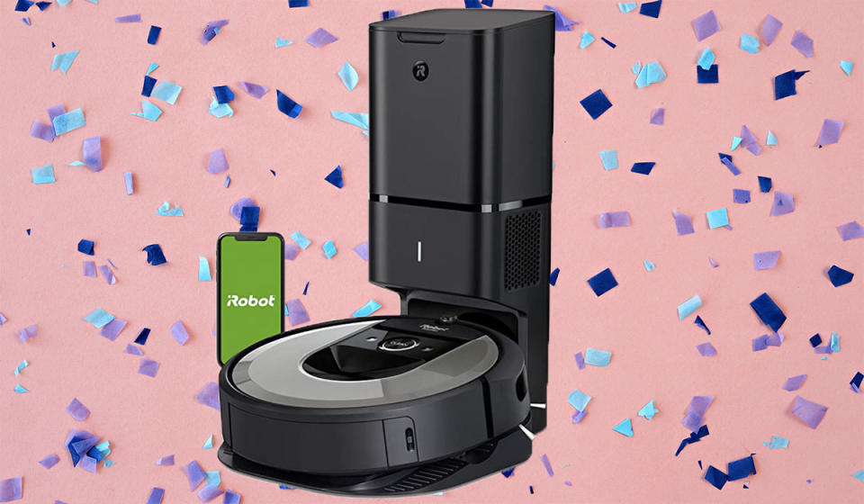 This next-level Roomba even empties its own bin—seriously! (Photo: Amazon)